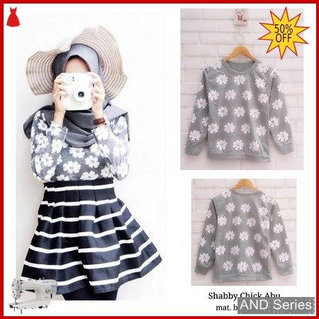 AND161 Baju Atasan Wanita Kaos Shabby Chuck BMGShop