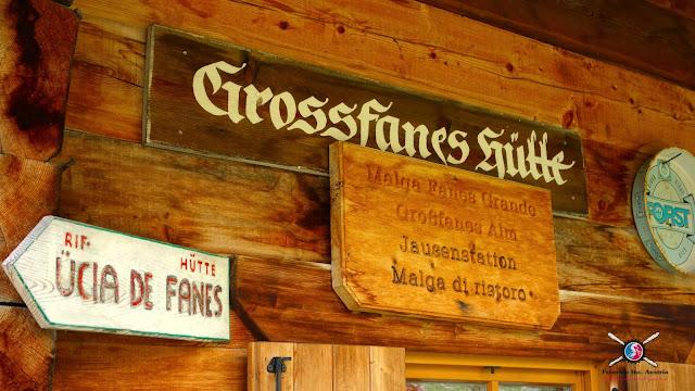 Kaiserschmarrn Grossfanes Hütte
