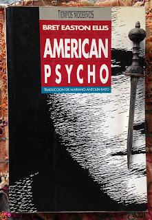 Portada del libro American Psycho, de Bret Easton Ellis
