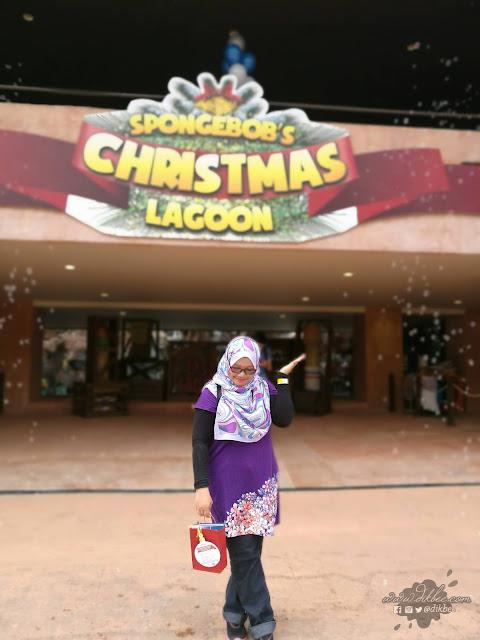 Spongebob's Christmas Lagoon Kini Di Sunway Lagoon