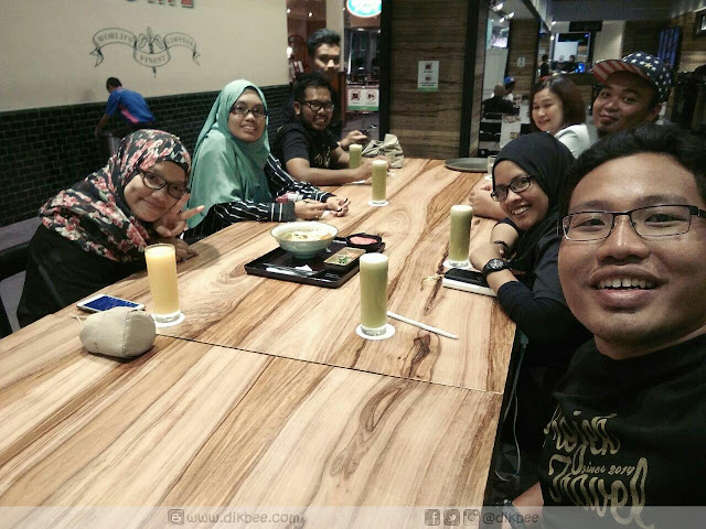 Dinner di The Green Market KLIA2
