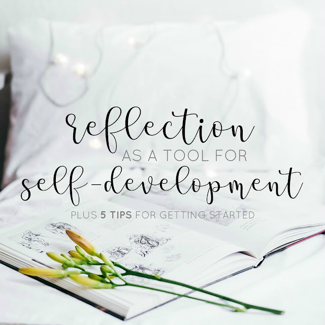 Reflection is a great little tool to help you on your self development journey. In this post I talk a little more about what reflection is, plus the process that comes with it alongside sharing 5 tips to help you utilise reflection more effectively in order to guide your self-development.