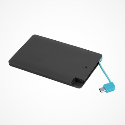 Ultra Thin Portable Power Credit Card Power Bank