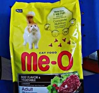 Merk Makanan Kucing yang Bagus dan Murah MeO