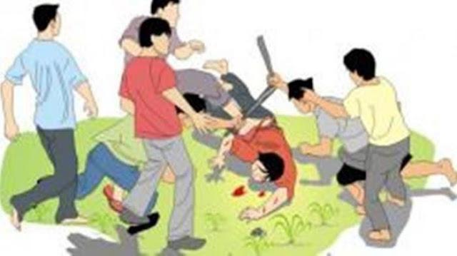 Pengemudi Ojek Daring Babak Belur Diserang Remaja di BSD