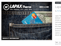 Download Lapax Theme Developer Version 1.2.3 Untuk Theme Toko Online