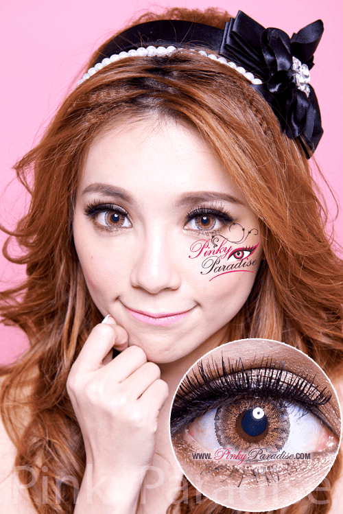 Vassen Sirius Brown Circle Lenses (Colored Contacts)