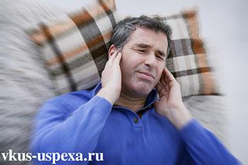Звон и шум в ушах, причины тиннитуса