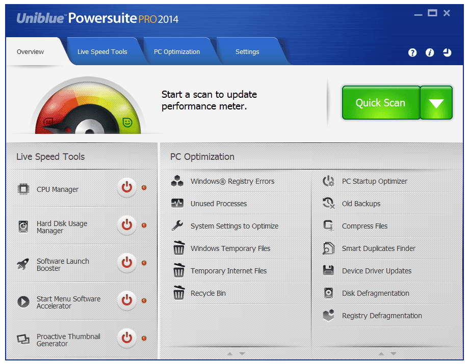 Uniblue power suite download.