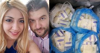 Κύπρια βγάζει χιλιάδες ευρώ πουλώντας το μητρικό της γάλα - ΕΙΚΟΝΕΣ