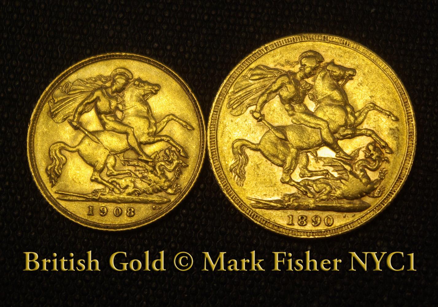 Mark Fisher New York City Photographer Old Gold Sovereigns New York Photographer Mark Fisher