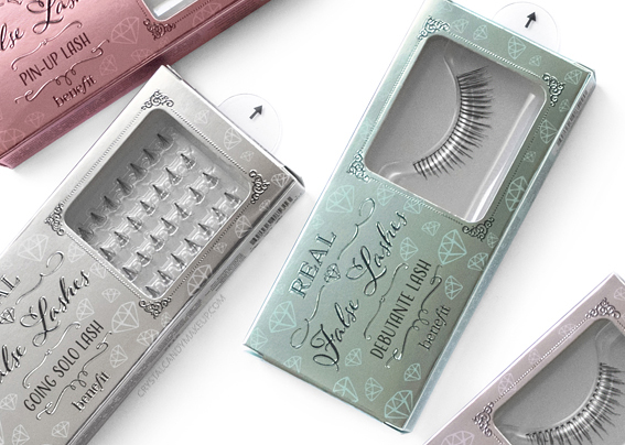 Benefit Real False Lashes Review Swatches
