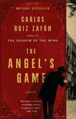 The Angel's Game by Carlos Ruiz Zafon - book cover