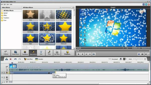 AVS Video Editor - 11 Software Video Editor Terbaik Untuk Windows