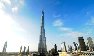 "The Burj Khalifa, Dubai: 'Despite being surrounded by sand, it was constructed with concrete incorporating the ""right kind of sand"" from Australia.' Photograph: Bloomberg via Getty Images."