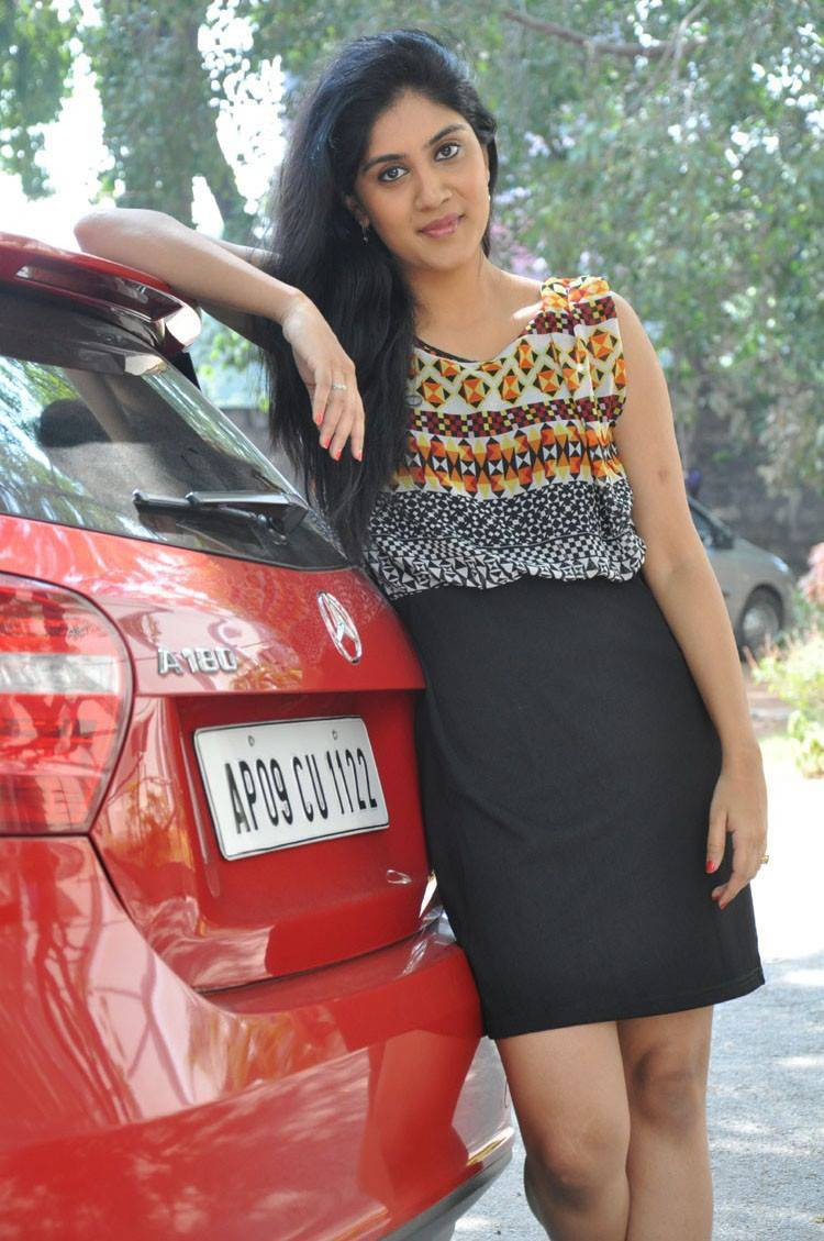 Actress Dhanya Balakrishna Latest Cute Hot Spicy Photos Gallery At Rajugari Gadi Success Meet