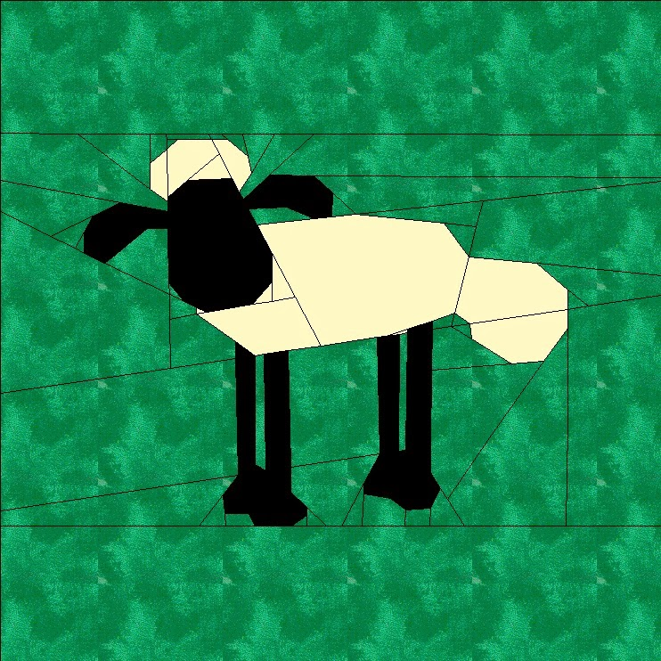 Shaun the Sheep Pattern
