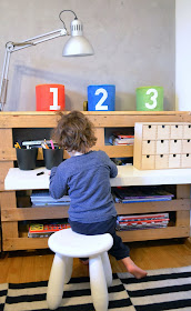 Mommo design ikea hack new desk for tommy for Ikea lack mensola