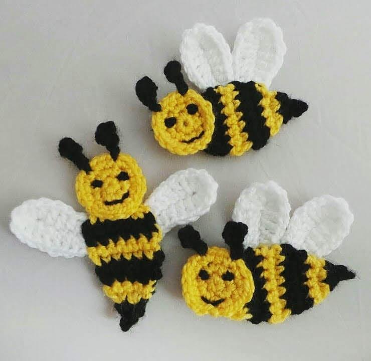 Crochet Tutorial Bee Happy Honeycomb Baby Blanket Free Pattern