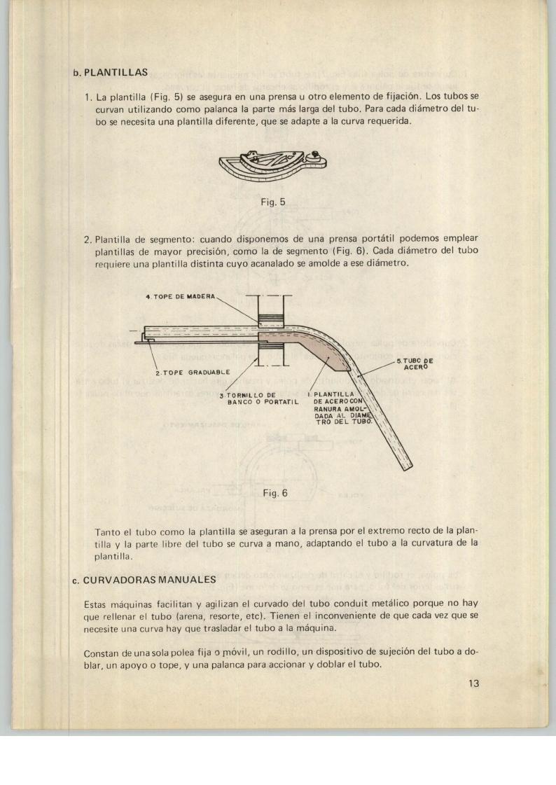 MANUAL CURVADO DE TUBOS CONDUIT