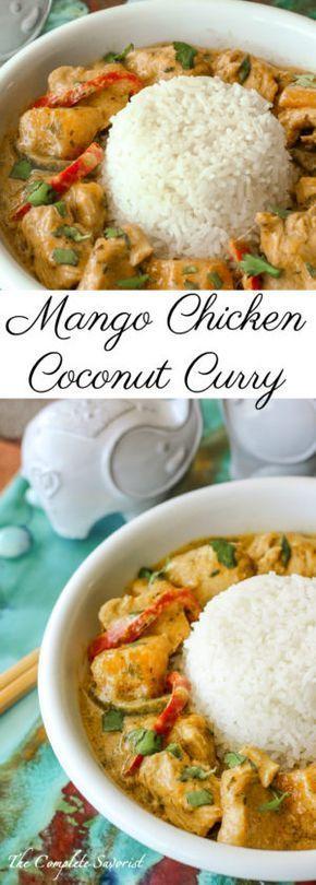 Mango Chicken Coconut Curry
