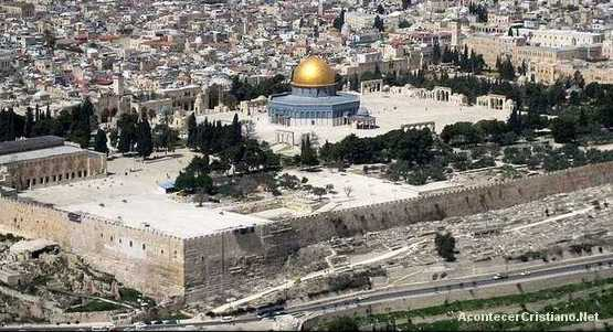 Monte del templo en Jerusalén