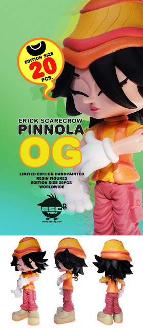 ESC Toy - OG Colorway Pinnola Resin Figure by Erick Scarecrow