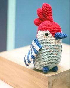 amigurumi bird crochet pattern