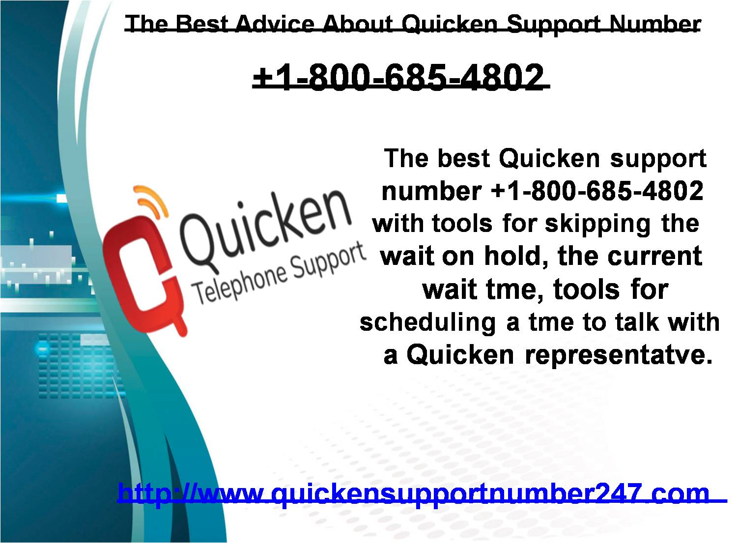 Calling +1-800-685-4802 For Quicken Customer Service