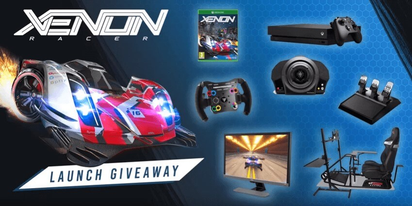 Win A Fully Equipped Racing Cockpit In Xenon Racer Launch Giveaway
