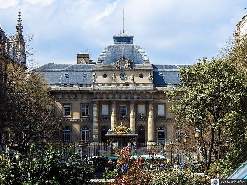 Palácio da Justiça na Île de La Cité - O que fazer em Paris: principais pontos turísticos