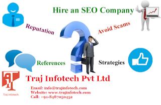 SEO Company - Traj Infotech