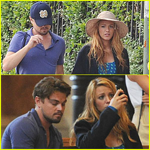 Amal8ousia Blake Lively And Leonardo Dicaprio June 2011