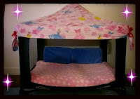 Reciclar un viejo corral de bebés y construir una cama para niños