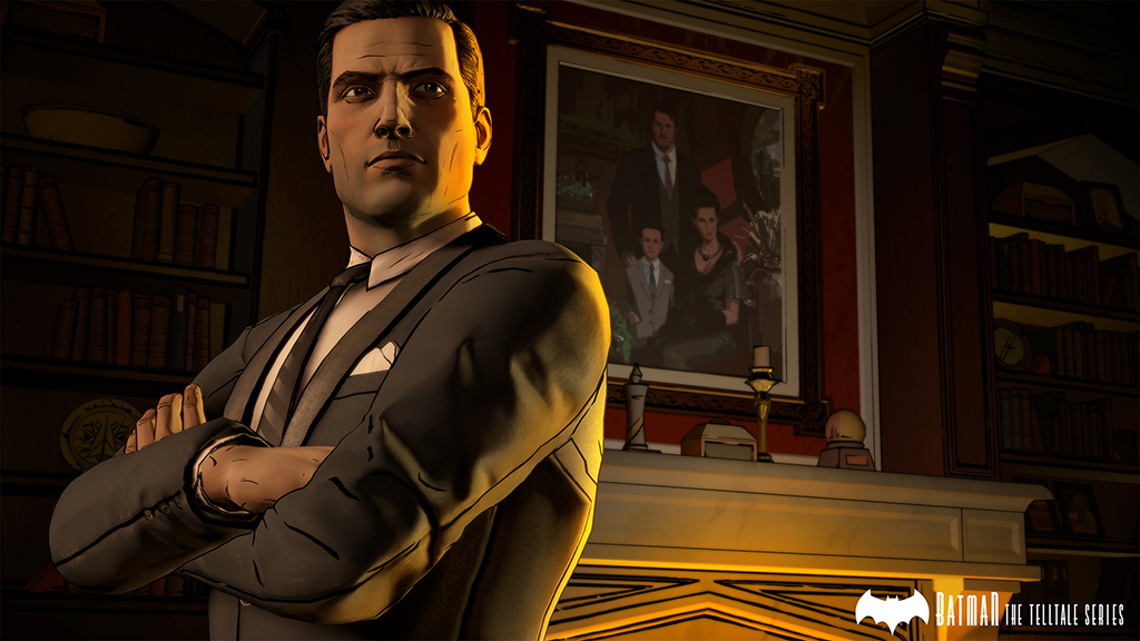 Batman - The Telltale Series Screenshot Bruce Wayne in Wayne Manor