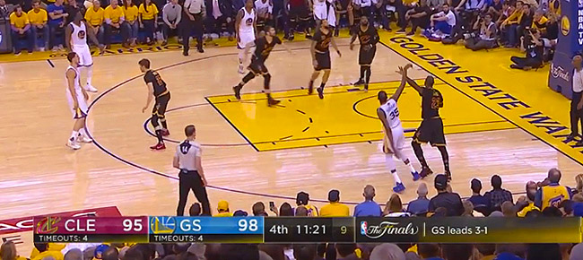 HIGHLIGHTS: Golden State Warriors vs. Cleveland Cavaliers (VIDEO) Game 5 / NBA Finals 2017