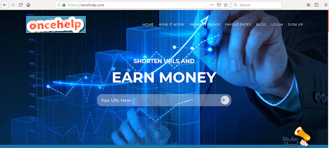 earn money online by oncehelp.com