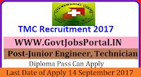 Tata Memorial Hospital Recruitment 2017– 53 Junior Engineer, Nurse