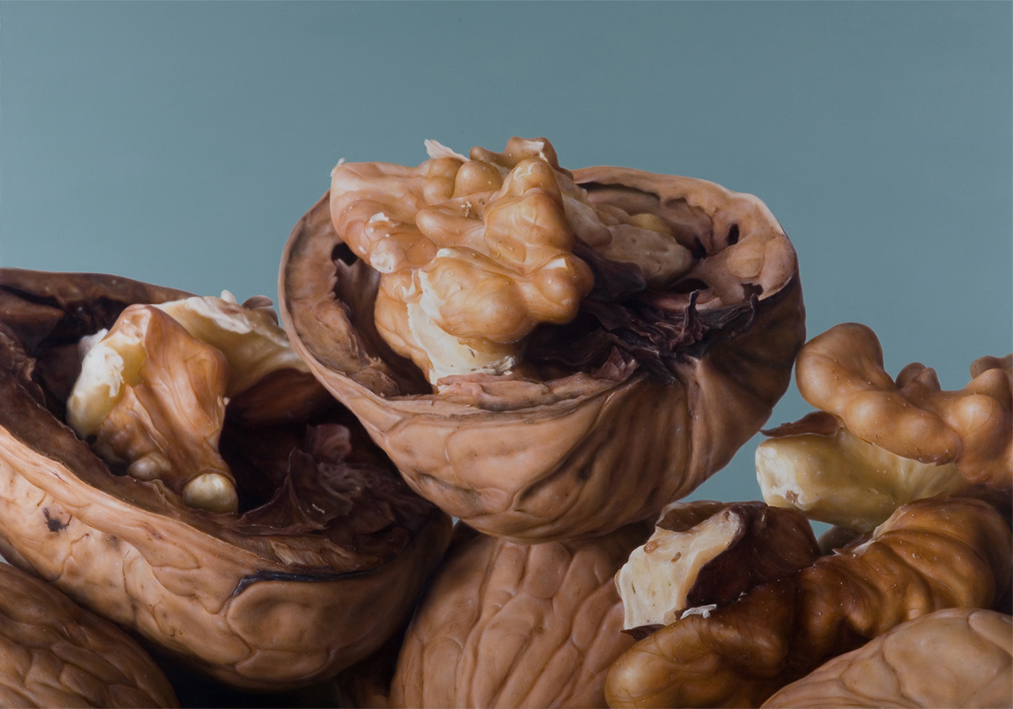 16-Walnuts-Antonio-Castelló-Avilleira-Visual-Art-with-Hyper-Realistic-Paintings-www-designstack-co