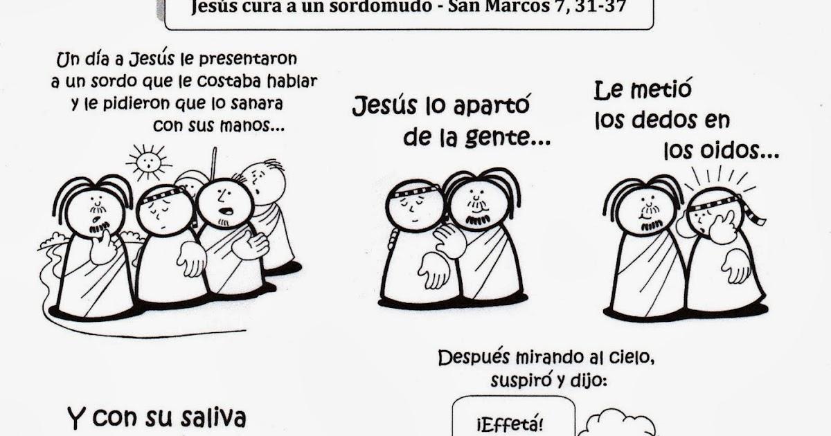 La Catequesis (El blog de Sandra): Recursos Catequesis Jesús cura a ...
