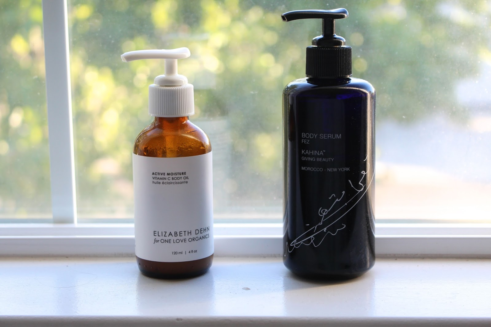 Summer Body Oils: #ED4OLO & Kahina