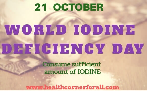 Top 8 Iodine Rich Foods |World Iodine Deficiency Day -21 October