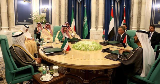 بعد المؤامره القطريه لإسقاط الاردن في الفوضى . السعوديه تقود حمله دعم اقتصادي للاردن .