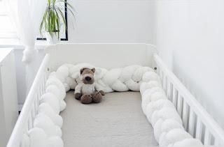Une tresse de lit en Lin