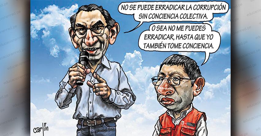 Carlincaturas Lunes 23 Diciembre 2019 - La República