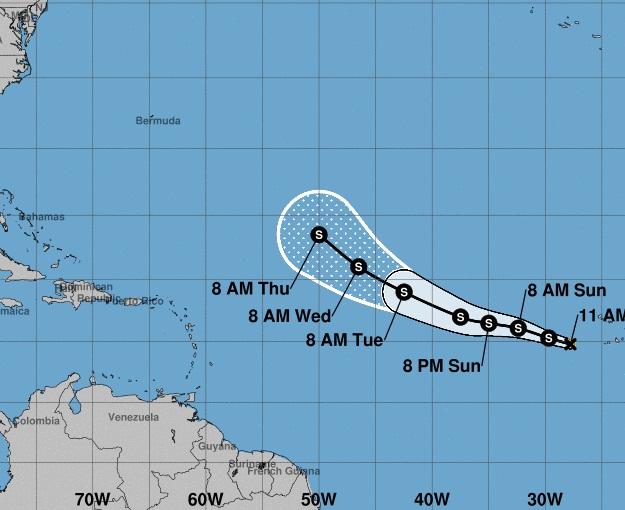 Tormenta-Tropical-Florence-en-el-Atlántico