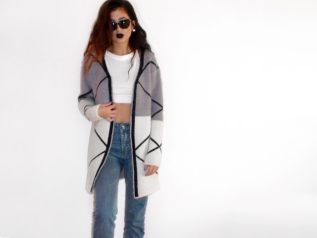 grey coat outfit ideas