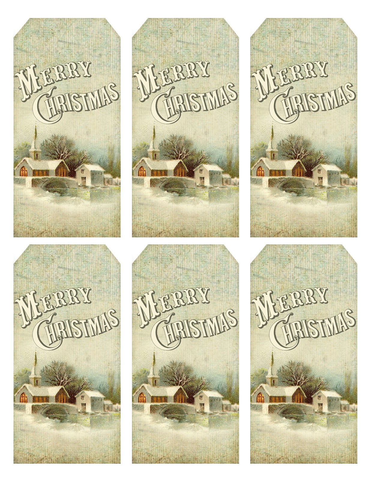 It is an image of Old Fashioned Vintage Christmas Labels to Print