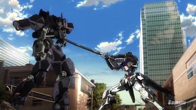 La Vittoria Finale del Gundam Barbatos sul Graze Ein