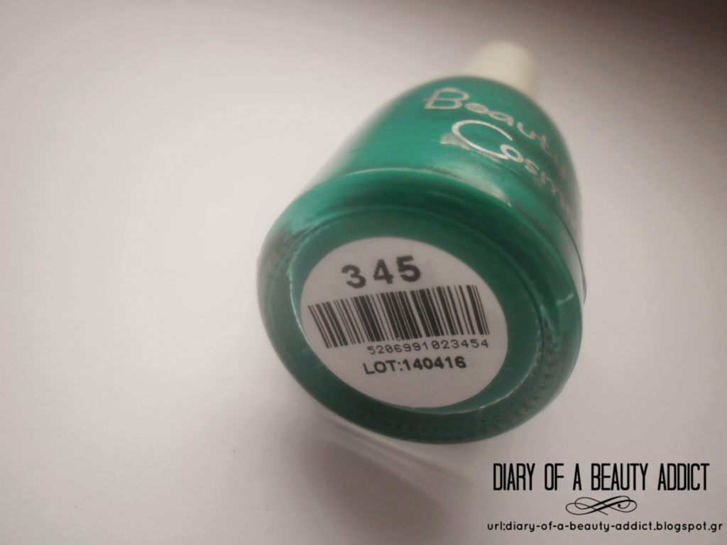 Beauty Line Cosmetics Nail Polish-No345